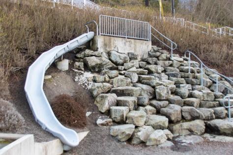 Haines Wharf Park Slide, Edmonds, WA