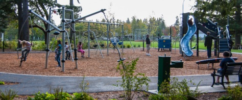 Hickman Park play area, Edmonds, WA