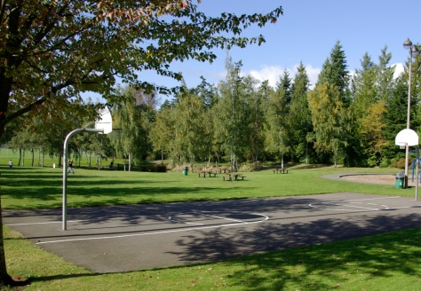 Picnic Area and Basketball Court, Meadowdale Playfields, Edmonds, WA