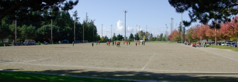 Soccer Fields at Meadowdale Playfields, Edmonds, WA