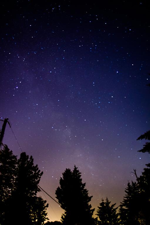 Milky Way from Edmonds, WA